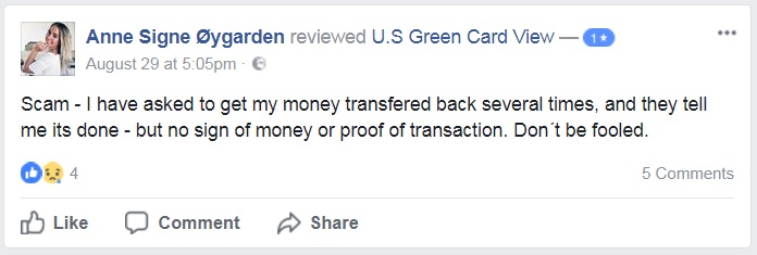 Green-Card-Organization-FB-Page-Review